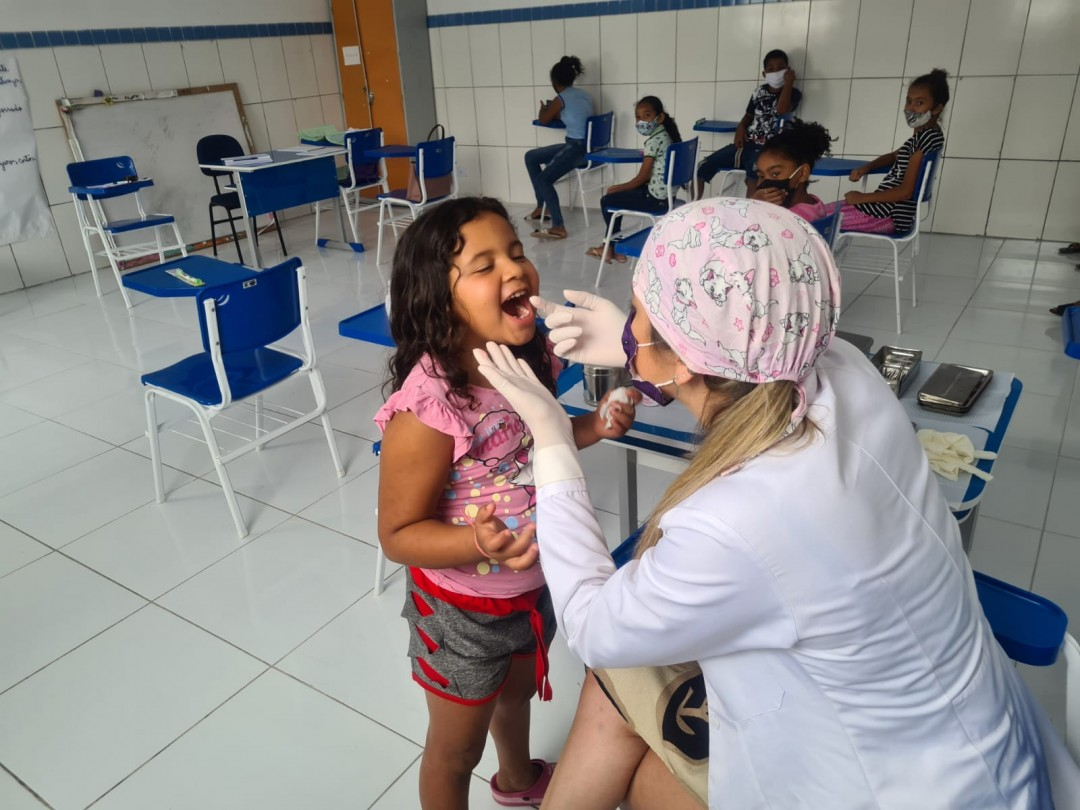 Programa Saúde na Escola disponibiliza avaliação odontológica para alunos  da Educação Infantil de Juacema e Catuni e estende ação para Fundamental I e II